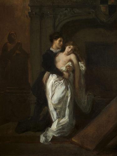 Delacroix - Romeo  et Juliette-jpg