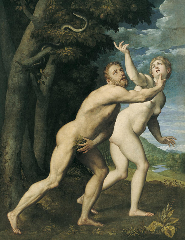 Salviati - Adam et Eve-jpg