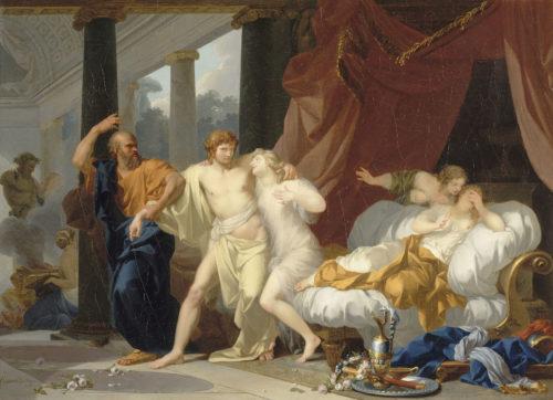 Regnault - Socrate et Alcibiade