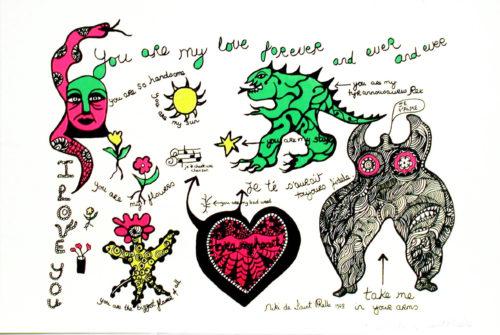 Saint Phalle - Love