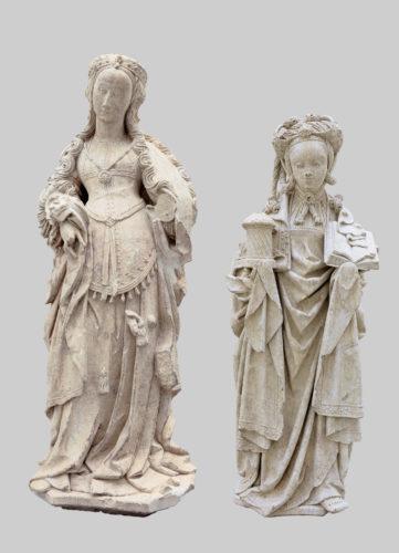 Sainte Agnès et Sainte Marie Madeleine dites les « Belles d'Orchies »