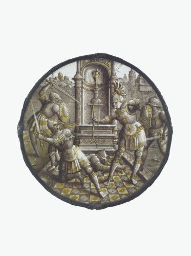Ulysse tuant les prétendants, 16e siècle, 22 cm. Musée du Louvre – DOA © Musée du Louvre, Dist. RMN-Grand Palais / Martine Beck-Coppola