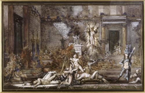 « Les Prétendants » ; Moreau, Gustave, 19e siècle © RMN-Grand Palais / René-Gabriel Ojéda
