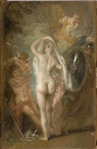 « Le Jugement de Pâris », Watteau, Antoine, 18e siècle. © RMN-Grand Palais (musée du Louvre) / Franck Raux