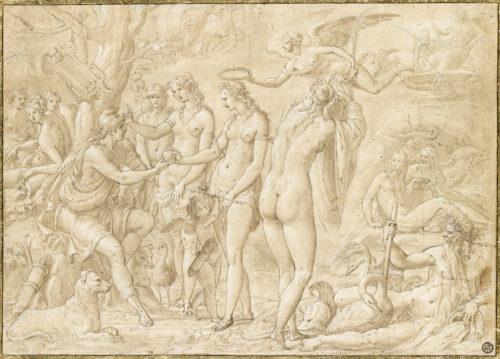 « Le Jugement de Pâris » ; Penni, Luca, 16e siècle © RMN-Grand Palais (musée du Louvre) / René-Gabriel Ojéda