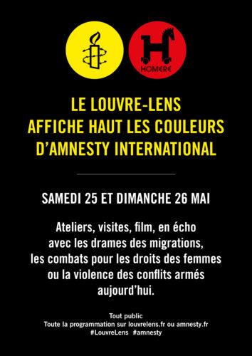 Week-end avec Amnesty International - Programme