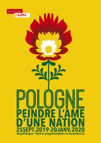 Affiche Pologne - Louvre-Lens