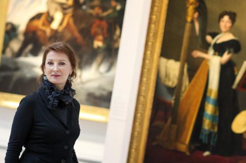 Muza Rubackyté dans la Galerie du temps