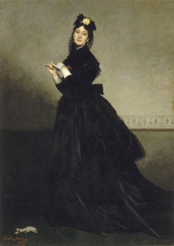 3La dame au gant – Carolus-Duran – 1869  RMN-Grand Palais musee dOrsay – Herve Lewandowski-jpg
