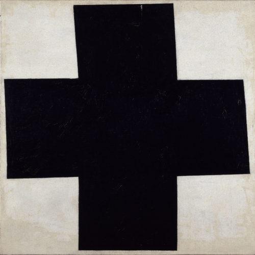 5Croix noire – MALEVITCH Kasimir – 1915  Centre Pompidou MNAM-CCI Dist- RMN-Grand Palais  Philippe Migeat-jpg