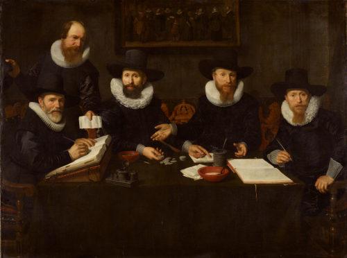 3De regenten van het Spinhuis – Nicolaes Eliasz PICKENOY – 1628  Amsterdams Historisch Museum-jpg