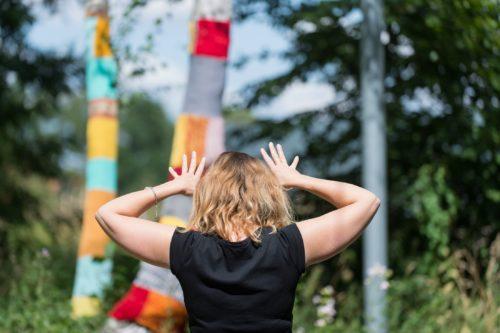 Tricot paysager - Parc en fête 2020 - Louvre-Lens © F. Iovino
