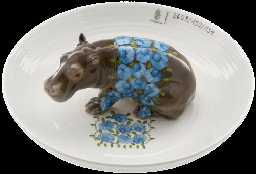 5- Hella Jongerius – Bowl with hippopotamus Porzellan Manufaktur Nymphenburg-png