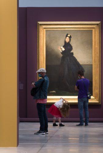 Exposition Soleils noirs-2 / Les codes du noir ©  F. Iovino / Louvre-Lens