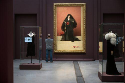 Exposition Soleils noirs-3 / Les codes du noir ©  F. Iovino / Louvre-Lens