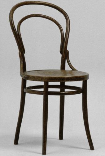 4- Chaise n14 – Michael Thonet  Centre Pompidou MNAM-CCI Dist- RMN-Grand Palais  Jean-Claude Planchet-jpg