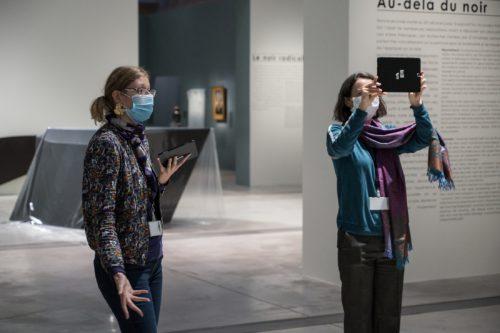 Visite à distance en direct, de l'exposition