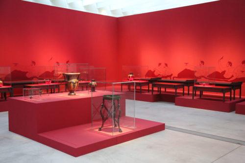 Le banquet couche des citoyens grecs © Louvre-Lens / DR